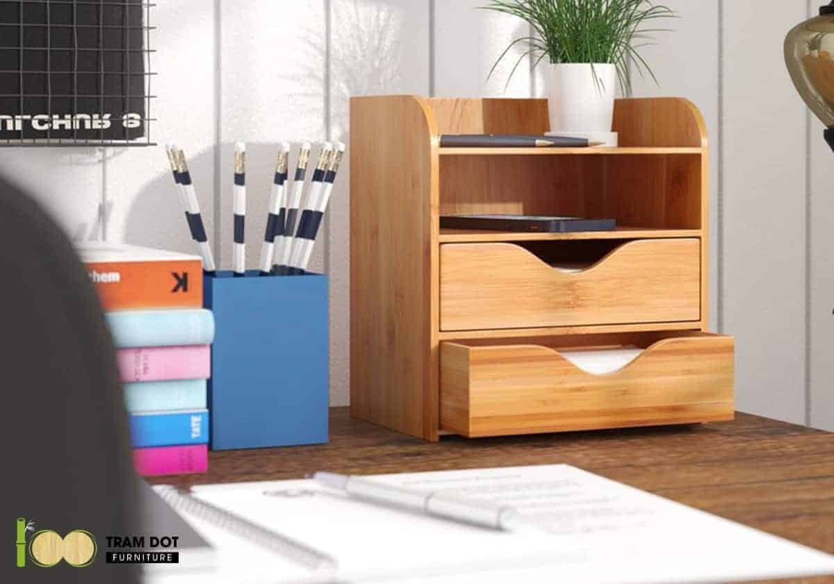 Giữ vật dụng nội thất tre trong nhiệt độ phòng để chúng khô tự nhiên