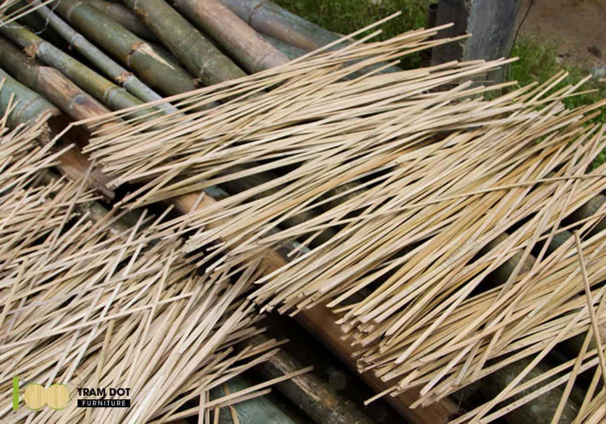 Nan tre cơ bản để hình thành nên các sản phẩm từ cây tre truyền thống