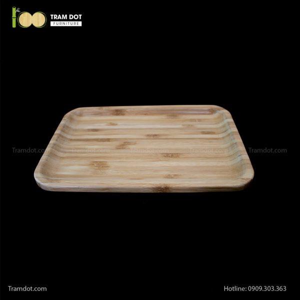 Đĩa tre chữ nhật 30.5×20.5cm (HỘP 30 CÁI) | TRAMDOT Furniture