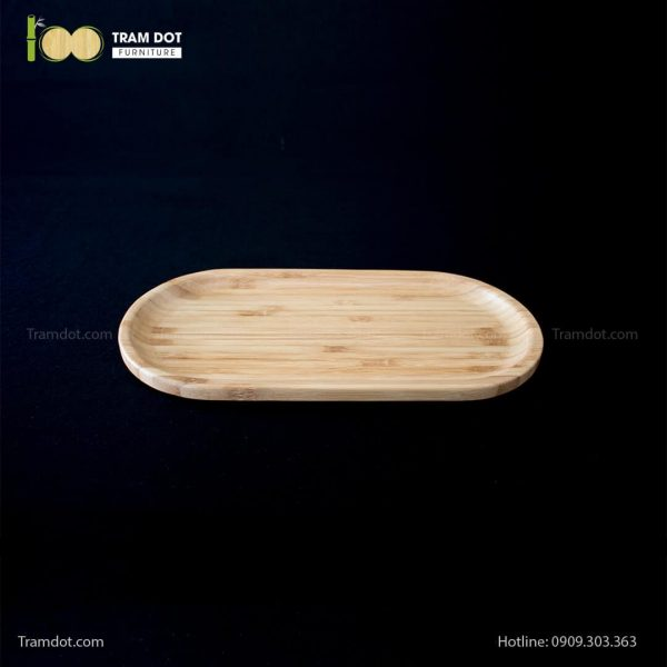 Đĩa tre oval 30.5x15cm (HỘP 30 CÁI) | TRAMDOT Furniture