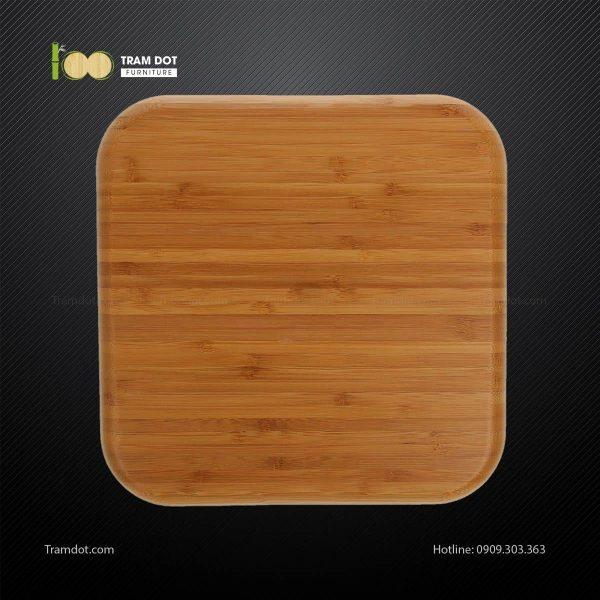 Đĩa tre vuông 30.5×30.5cm TRAMDOT