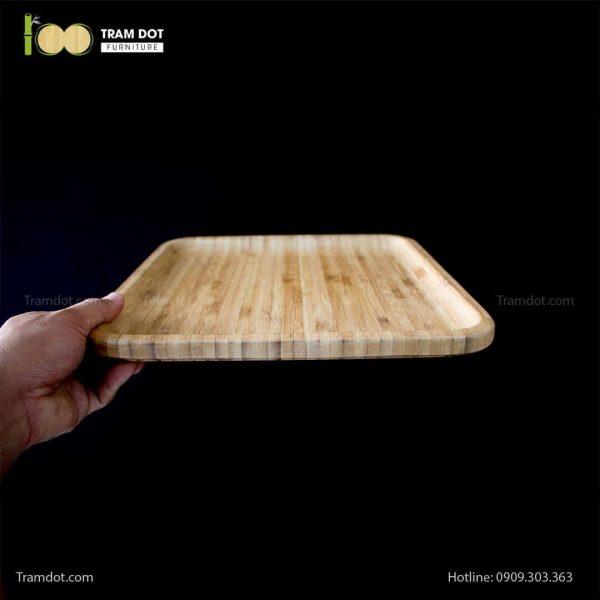 Đĩa tre vuông 30.5×30.5cm (HỘP 30 CÁI)   TRAMDOT Furniture