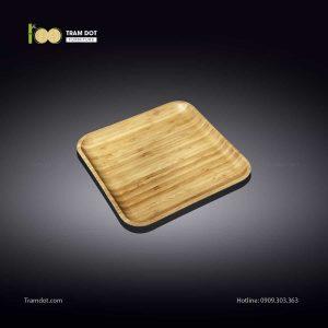 Đĩa tre vuông 12.5×12.5cm (HỘP 30 CÁI) | TRAMDOT FurnitureĐĩa tre vuông 12.5×12.5cm (HỘP 30 CÁI) | TRAMDOT Furniture