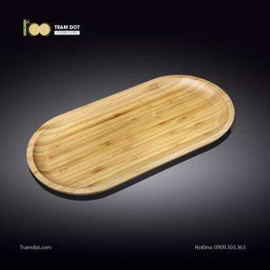Đĩa tre oval 20.5x10cm (HỘP 30 CÁI) | TRAMDOT Furniture