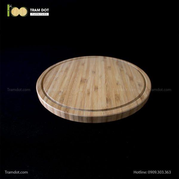 Khay tre phục vụ tròn 30.5×30.5cm (2)