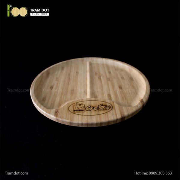 Đĩa tre Gogi tròn 30cm – tre ép đứng (4)