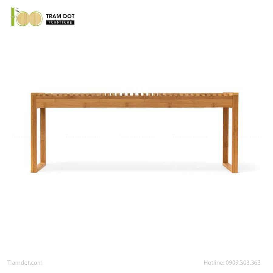 Ghế băng dài tre ép, tự lắp ráp | TRAMDOT Furniture
