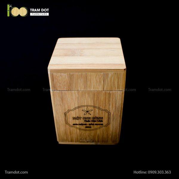 Hũ tre đựng mật ong | TRAMDOT Furniture