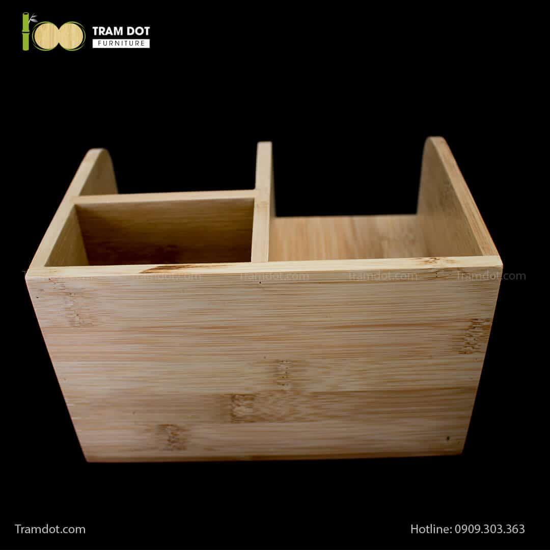 Hộp tre để bàn làm việc | TRAMDOT Furniture