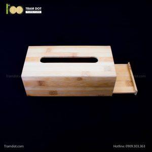 Hộp tre đựng giấy ăn lớn | TRAMDOT Furniture
