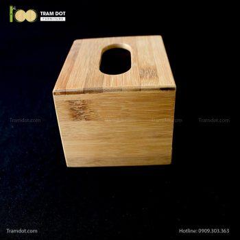 Hộp tre đựng giấy ăn nhỏ | TRAMDOT Furniture