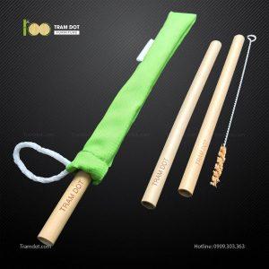 Pack 2 – Ống hút tre dài 20cm TRAMDOT