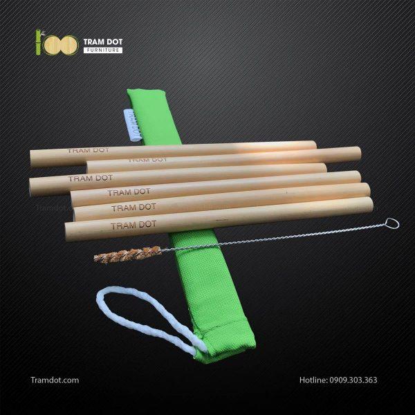 Pack 6 – Ống hút tre TRAMDOT