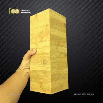 Ống tre vuông L10W10xH35cm TRAMDOT