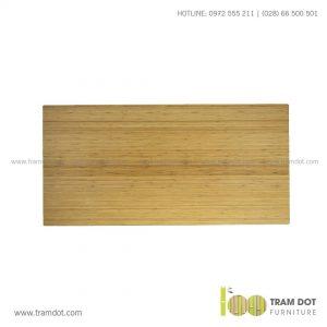 Mặt bàn tre ép tự nhiên chữ nhật, mặt bàn tre Trăm Đốt