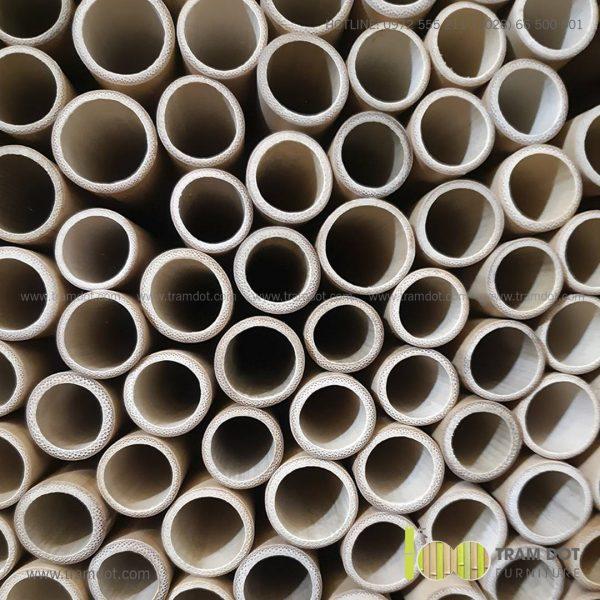 Bộ ống hút tre tự nhiên size lớn 2 cái, Pack 2 natural bamboo straws - Trăm Đốt